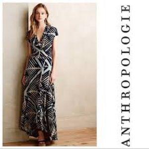 Anthropologie maeve size medium maxi dress.
